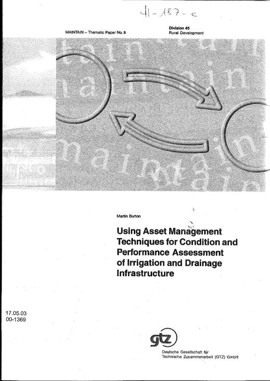 File:GIZ, Burton,M (2000) Using asset management techniques for condition and performance assessment ... full.pdf