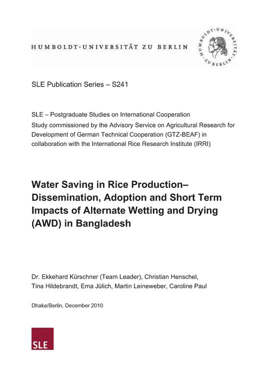 File:SLE (2010) Water Saving in Rice Production.pdf