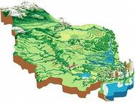 Watershed with agricultural, industrial and domestic water users in upstream and downstream areas, as well as water for ecosystems