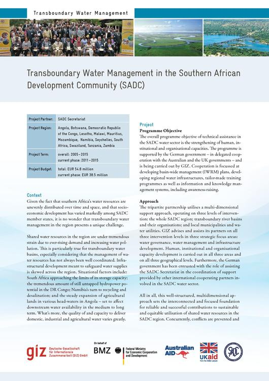 File Factsheettransboundary Water Management In The Southern African