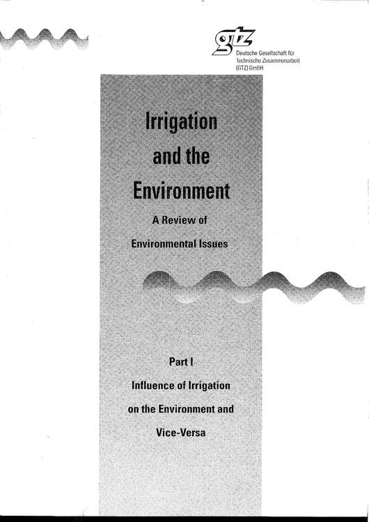 File:GIZ, Petermann, Th. (1993) Irrigation and the Environment Vol.I Chapter 1 to 4.pdf