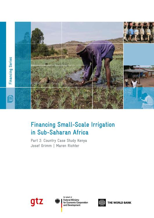 thesis on small scale irrigation Sprinkler irrigation is a type of pressurised irrigation that consists of applying water to the soil surface using  whether a large or small-scale.
