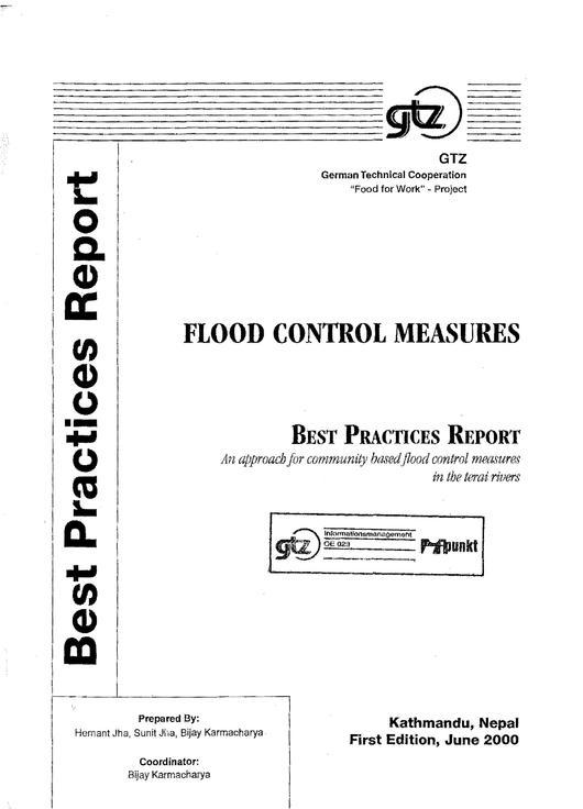 Flood control measures pdf reader
